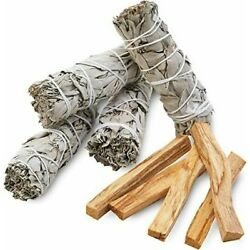 Kyпить 9 Pack: 4 WHITE SAGE SMUDGE STICKS  4