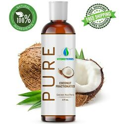 Kyпить Fractionated Coconut Oil 4 oz 100% Pure Natural For Skin, Hair Growth & Massage на еВаy.соm
