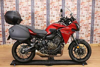 2017 YAMAHA MT-07 TRACER, RED, 14,000 MILES, CLEAN CONDITION, WITH EXTRAS