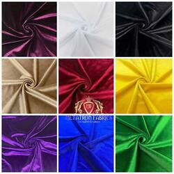 Kyпить Spandex Stretch Velvet Fabric 60'' Wide by The Yard   {Choose The Color} на еВаy.соm