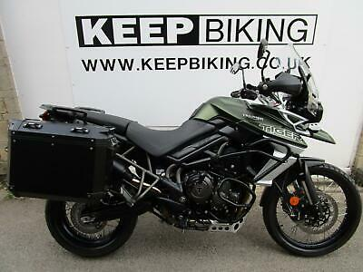 2019 TRIUMPH TIGER 800 XCX  12026 MILES.  1 OWNER. FULL SERVICE HISTORY. DATATAG