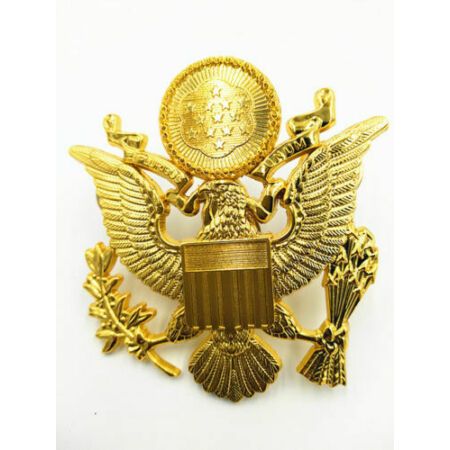 img-WWII US Army Air Force OffIcer Cap Badge