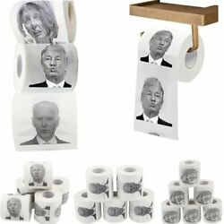 Kyпить 1 Roll Toilet Paper Trump/ Biden/ Nancy Roll Paper Funny Novelty Gag Party Gift на еВаy.соm