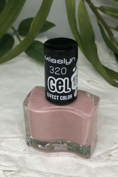 Beimerstetten,DeutschlandMisslyn GEL Effect Color Nail Polish Nagellack 320  Nude 10 ml *neu*