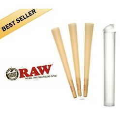 Kyпить RAW Classic 98 special Size Pre-Rolled Cones (50 Pack) with free tube на еВаy.соm