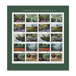 Kyпить USPS New American Gardens Pane of 20 на еВаy.соm