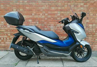2019 Honda Forza 125,  new model with just 548 miles