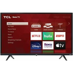 TCL 32S335 32'' 3-Series 720p HD LED Smart Roku TV with 3 HDMI