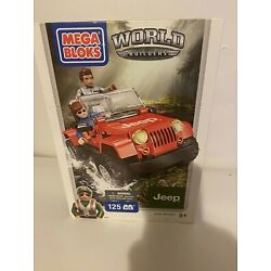 Kyпить Mega Bloks World Builders Jeep Wrangler Building Set 97803 - NEW 125 PCS Age 5+ на еВаy.соm