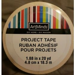 Artminds D.I.Y Project Tape  1.88 in. W x 20 yd
