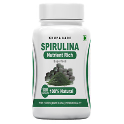 Kyпить Organic Spirulina Tablets, 500mg Per Serving, 180Tablets - Superfoods на еВаy.соm