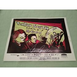 Kyпить TinPan South SIGNED POSTER Donna Summers Andrew Gold Gordon Lightfoot Ryman 2001 на еВаy.соm