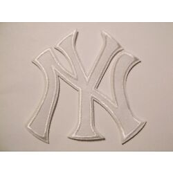 New York Yankees NY Embroidered PATCH~3 1/2'' x 3''~Iron On~MLB~FREE US Mail
