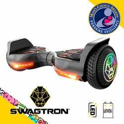 "Kyпить Swagboard Twist T580 Hoverboard w/ Light-up 6.5"" LED Wheels For Kids Ages 8+ на еВаy.соm"
