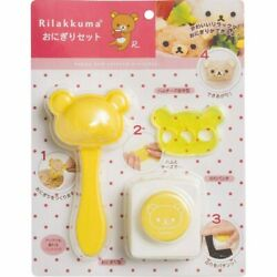 San-X Rilakkuma Ky16601 rice ball with punch out for bento box (New)