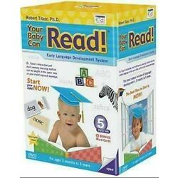 Kyпить YOUR BABY CAN READ EARLY LANGUAGE INTERACTIVE DEVELOPMENT SYSTEM 5 DVD SET NEW! на еВаy.соm