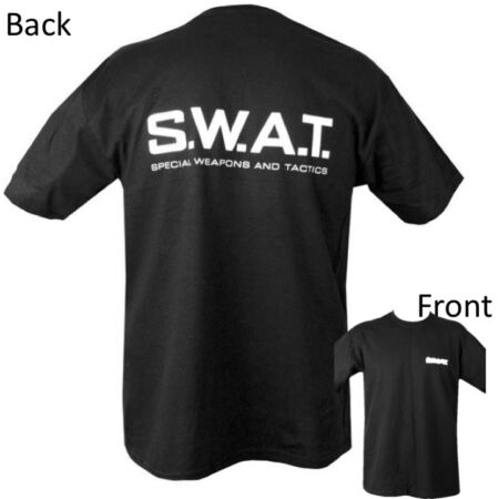 img-SWAT T-SHIRT SPECIAL WEAPONS & TACTICS MENS S-2XL 100% COTTON POLICE SAS GAMING