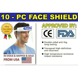Kyпить 10 PCS Full Face Shield Clear Protector Work Industry Dental Anti-Fog Reusable на еВаy.соm