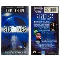 NEW! The Ghost Report Sightings 1995 VHS Tape Paranormal Ghosts Sealed