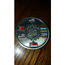 Singapore Force Protection Challenge Coin Federal Police NCIS AFOSI CID MI Army