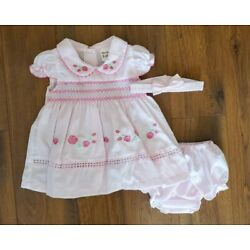 Kyпить NWT baby girl dress set with headband clothes outfit size 3 6 9 months 2T 3T 4T на еВаy.соm