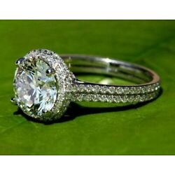 Kyпить Stunning Engagement Wedding Double Halo Ring For Her 2 Ct Diamond 14K White Gold на еВаy.соm