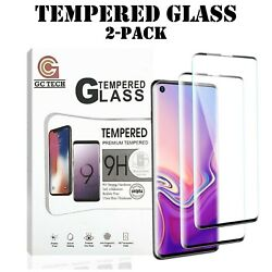 Kyпить 2-Pack Tempered Glass For Samsung S10 S20 Note 20 10 Plus Ultra Screen Protector на еВаy.соm