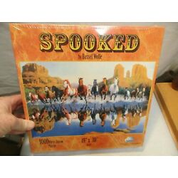 Sunsout ''Spooked'' by Bassel Wolfe 19''x30'' Jigsaw Puzzle 1000 Pieces - New Sealed
