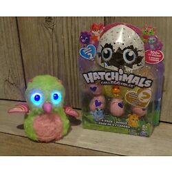 "Kyпить Spin Master HATCHIMALS 5"" Rare Pink & Green OWLICORN Interactive Toy + 4-Pack на еВаy.соm"