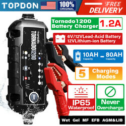 Kyпить Smart Car Battery Charger Maintainer for 6V/12V AGM GEL WET Battery Vehicles на еВаy.соm