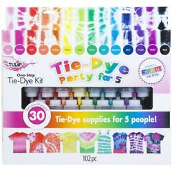 Kyпить Tulip one-step tie-dye 15-Color Party Kit на еВаy.соm