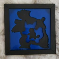 Kyпить Pokemon Evolution 3D Wall Art (Squirtle) на еВаy.соm