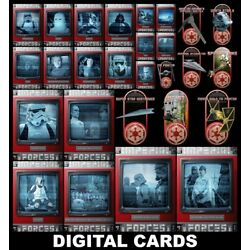 Kyпить Topps Star Wars Card Trader IMPERIAL FORCES [27 CARD RED BASE/BRONZE SHIPS SETS] на еВаy.соm