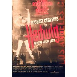 Kyпить Hedwig and the Angry Inch 1999 Los Angeles Production Posters на еВаy.соm