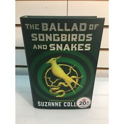 Kyпить BALLAD OF SONGBIRDS & SNAKES '20 Suzanne Collins 1/1st Hunger Games AMAZING, New на еВаy.соm