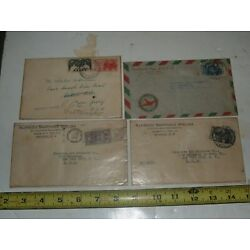 Kyпить Lot of 4 Vintage 1942 Air Mail Covers -Mexico-5 Mexican Stamps на еВаy.соm