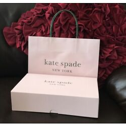 Kyпить Kate spade gift box size 10x6x2.5 inches with tissue/shopping Bag! на еВаy.соm
