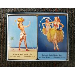 Kyпить Pin Up Advertising Complete Decks Playing Cards Vintage NIB на еВаy.соm