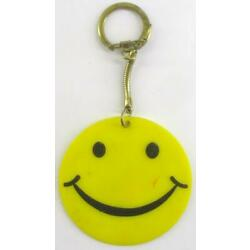 Kyпить vintage 60's SMILEY FACE yellow KEYCHAIN на еВаy.соm