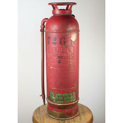Kyпить Vintage Badger's Copper Fire Extinguisher  на еВаy.соm