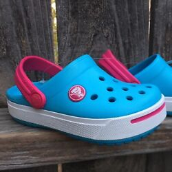 CROCS KIDS YOUTH GABBY BUTTERFLY PINK COTTON CANDY  J2//4 NWT