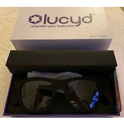 Kyпить LUCYD BLACK MATTE SMART SUNGLASSES W/ BLUETOOTH AUDIO DEVICE MODEL LCD001 на еВаy.соm