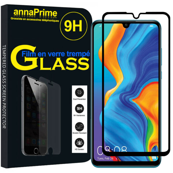 Frankreich3D Full Glass Tempered Screen Protection Film Total Serie Huawei P20 P30 Lite