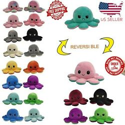 Kyпить Reversible Flip Octopus Plush Stuffed Toy Soft Animal Home Accessories Doll Gift на еВаy.соm
