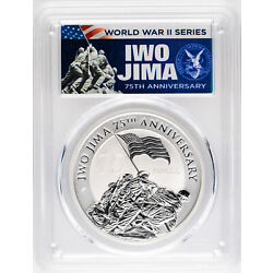 Kyпить 2020 $1 Iwo Jima 75th Anniversary 1oz Silver Coin PCGS MS70 First Day of Issue на еВаy.соm