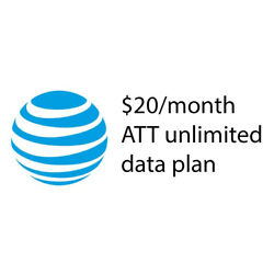 AT&T Unlimited Data Plan $20/Month Hotspot standalone only