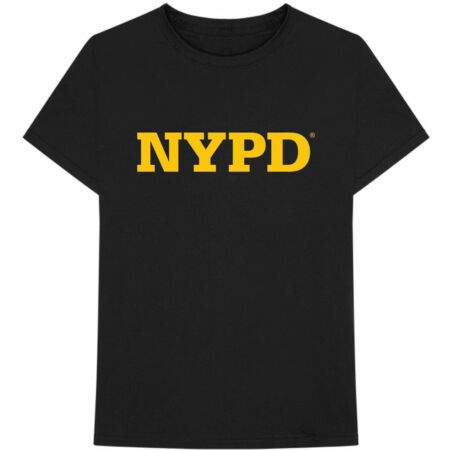 img-New York City Nypd Text Logo Official Tee T-Shirt Mens Unisex