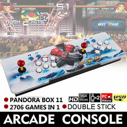 Kyпить New Pandora Box 11s 2706 in 1 Retro Video Games Double Stick Arcade Console на еВаy.соm