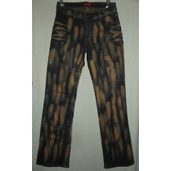 Apple Bottoms 4 or 8 Bleached Coated Shiny Jeans stretch bottom