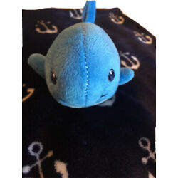 Kyпить HB Whale Lovey Hudson Baby Blue Anchors Security Baby Blanket Plush Lovey Navy на еВаy.соm